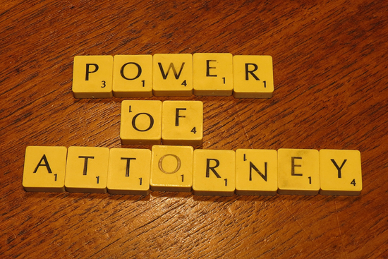 Power of Attorney=